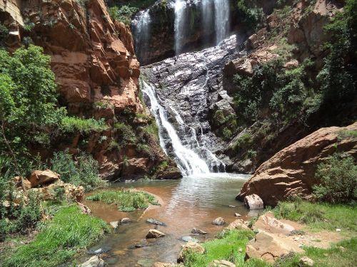 waterfalls nature scenery