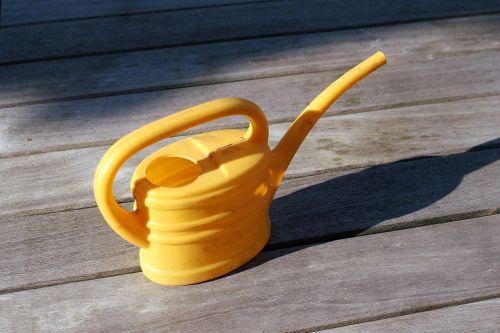 watering watering can gardening