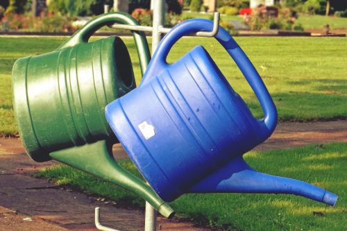 watering can casting cemetery