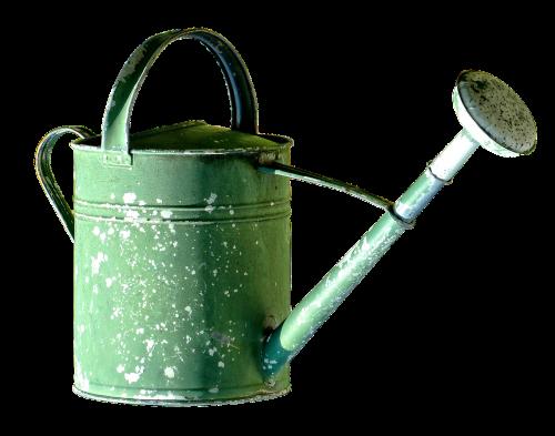 watering can pot garden