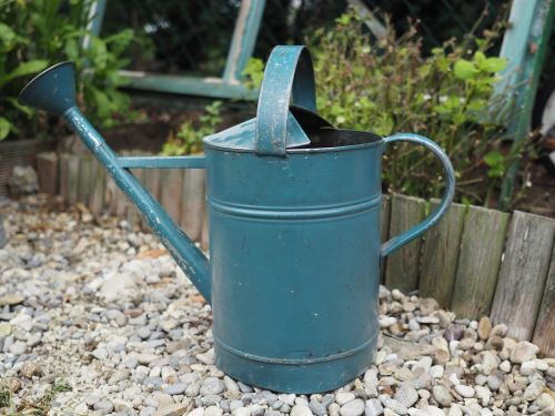watering can gardening metal