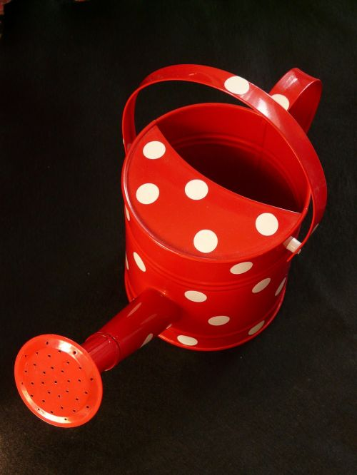 watering can casting red