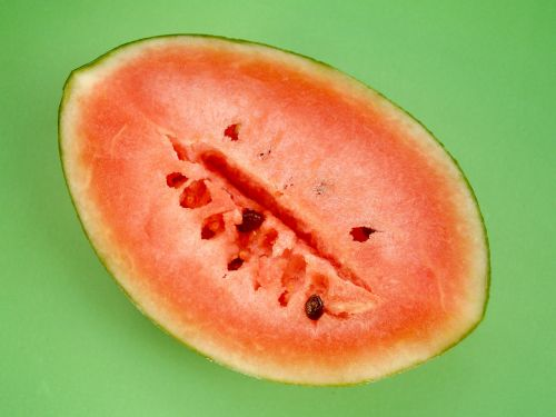 watermelon slice isolated