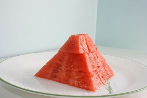 watermelon desert snack