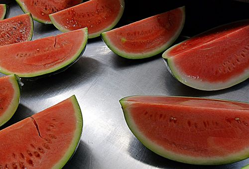 watermelon slices fruit