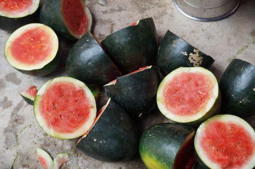 watermelon ripe juicy