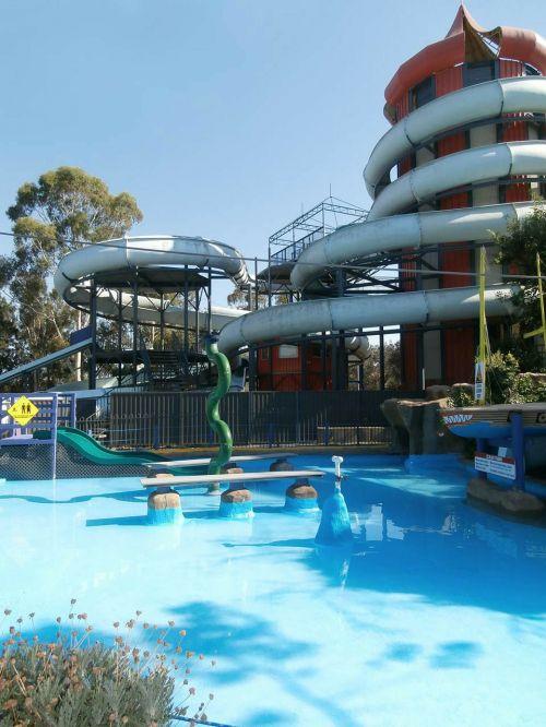 waterpark pool water