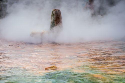 waters smoke geyser