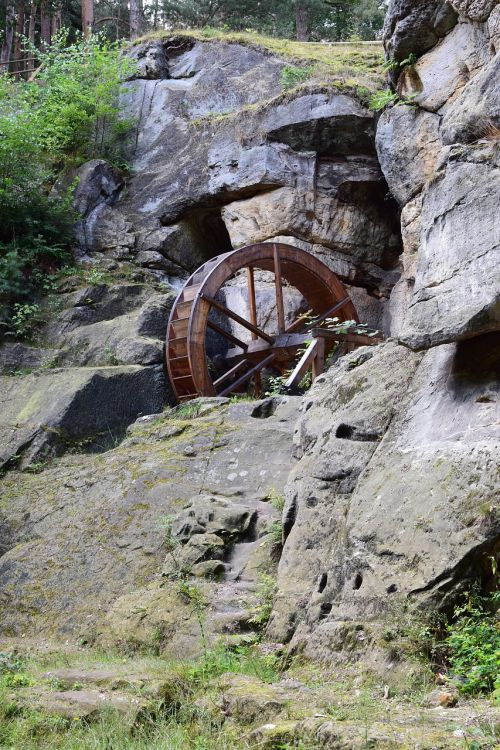 waterwheel historically construction