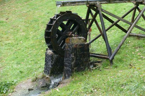 waterwheel pond renewable energy