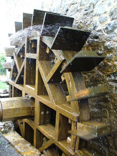 waterwheel technology mill