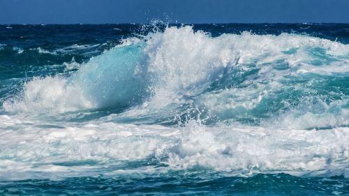 wave bubbles foam