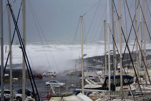 wave sea storm