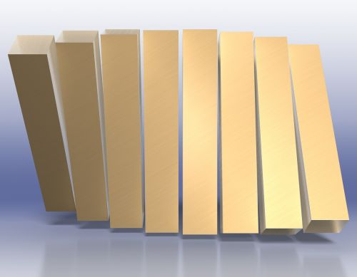 wave bars gold
