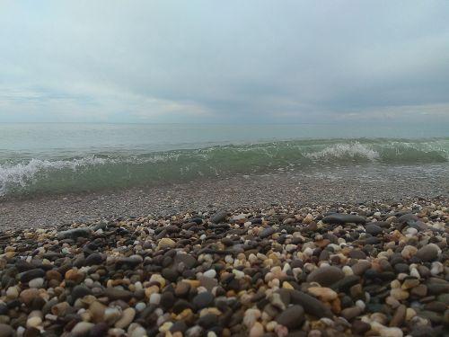 wave sea foam