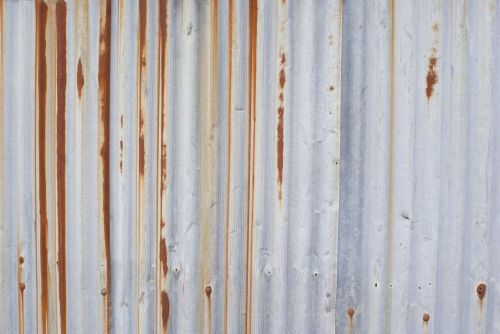 wave plate rust rusted