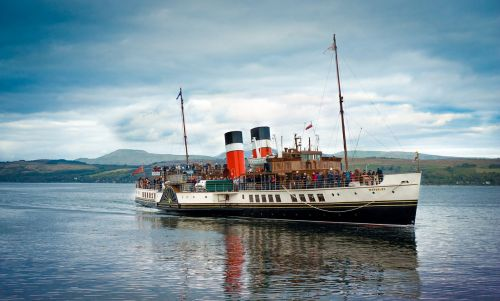 waverley paddle steamer scotland