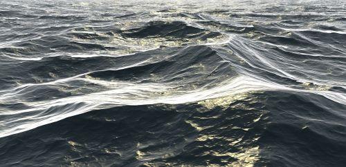 waves ocean sea