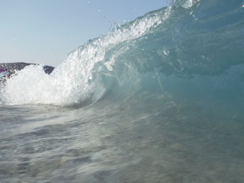 waves tube surf