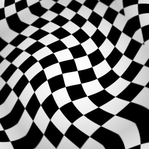 Wavy Checkerboard