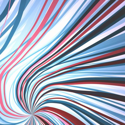 banguotas, juostelės, juostelės, modelis, menas, spalva, banguotos juostelės 2