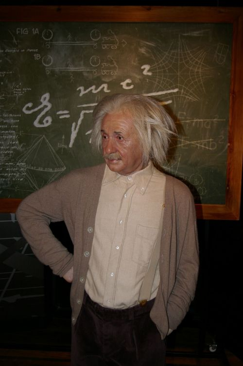 wax figure berlin einstein