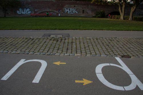 way cycle path walk