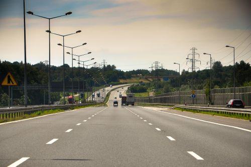 way highway landscape
