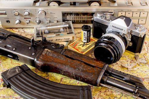 weapon vietnam camera