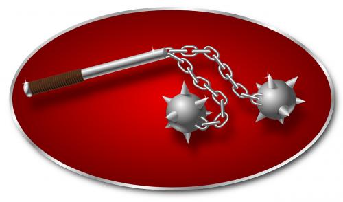 weapon medieval bolas
