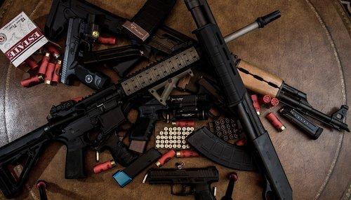 weapons  danger  pistol