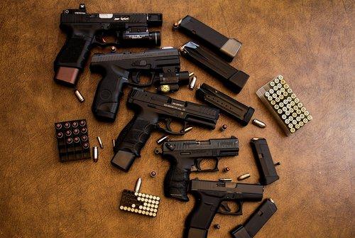 weapons  guns  ammunition