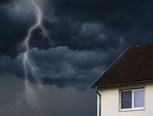 weather thunderstorm weather mood