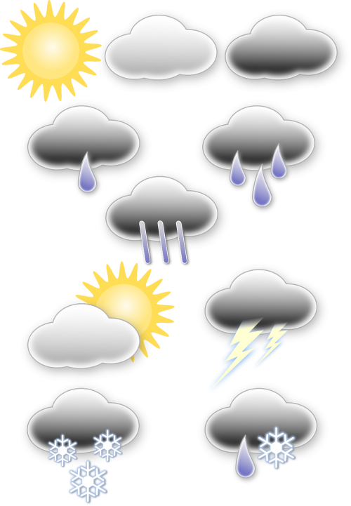 weather icons cloud