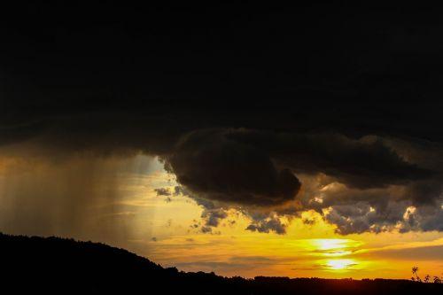 weather mood sunset