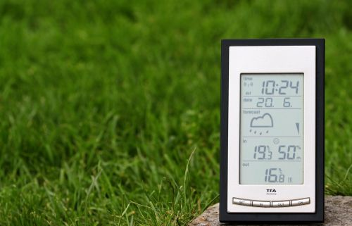 weather station digital display weather forecast