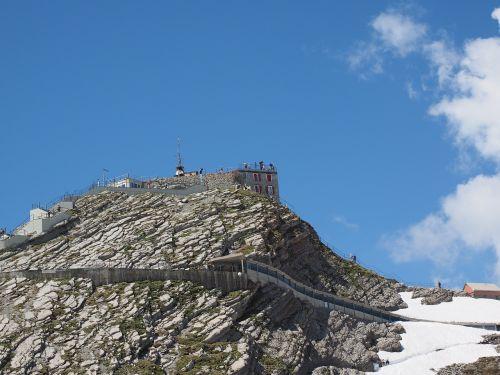weather station säntis summit area