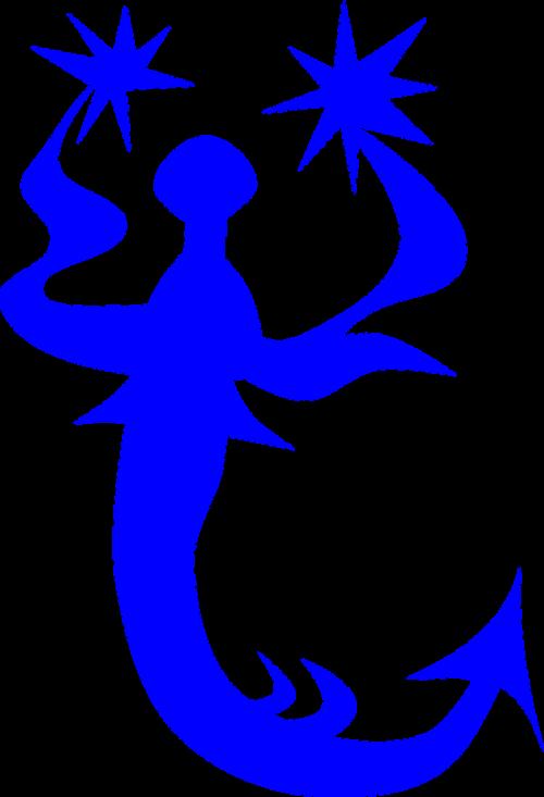 weather vane blue vane