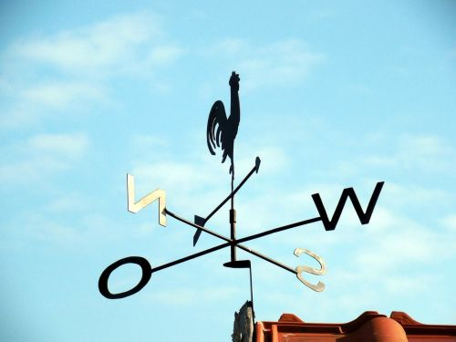 weather vane compass point wind direction