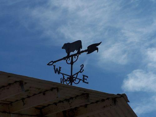 weather vane sky barn