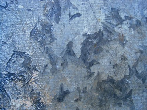 Weathered Galvanized Metal Sheet