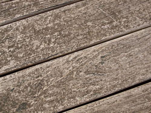 Weathered Wood Planks Background