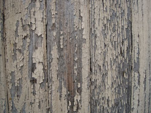 Weathered Wooden Panel