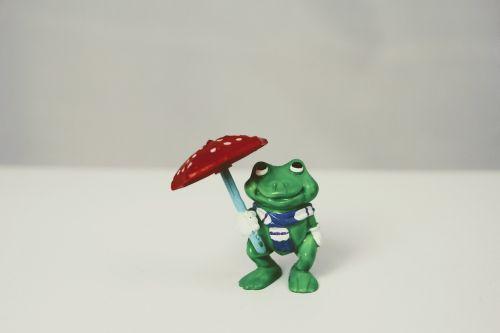 weatherman green frog