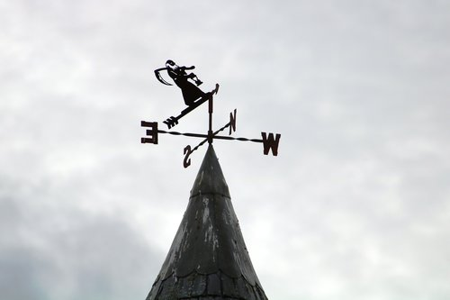 weathervane  sign  weather
