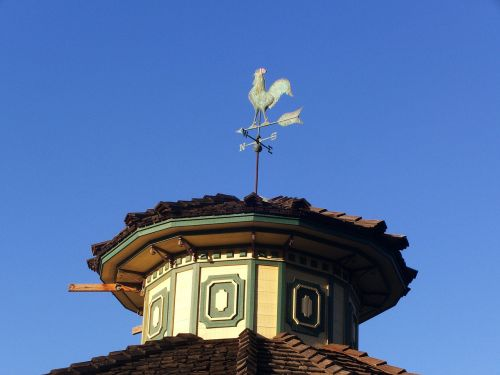 weathervane weather vane rooster