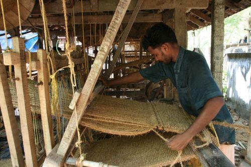 weaving hand loom loom