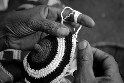 weaving handmade hat african