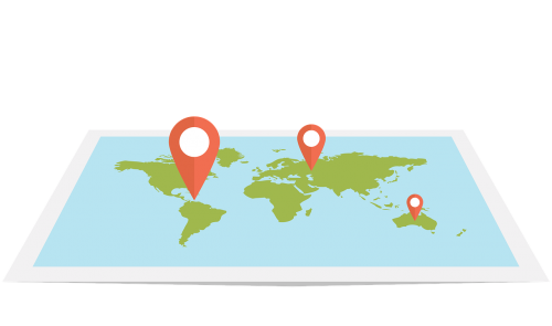 web map flat