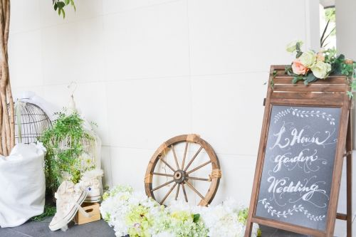 wedding wheel welcome board